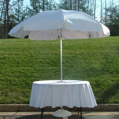 Marvelous Round Table With Umbrella