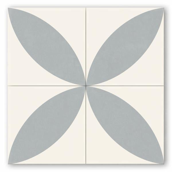 Cement Tile Encaustic Dane 8 X8 Stock Sample Copenhagen And Bald Hairstyles