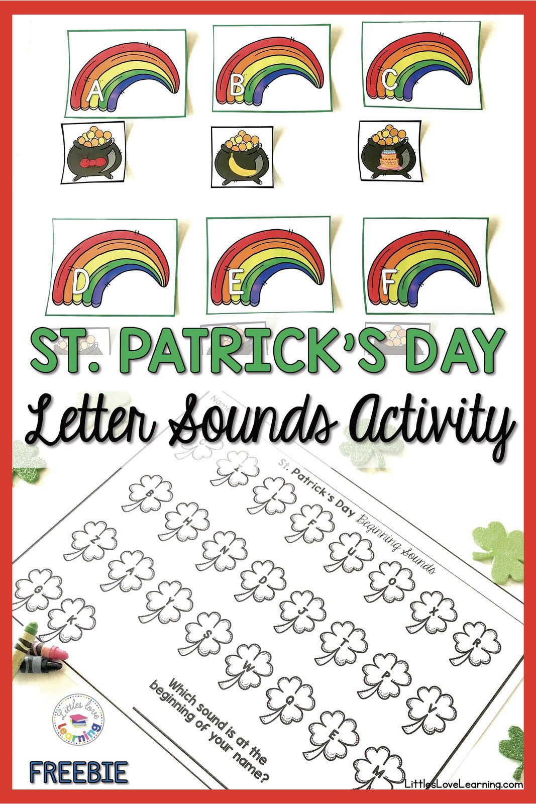 Free St Patrick S Day Printable Activity Your