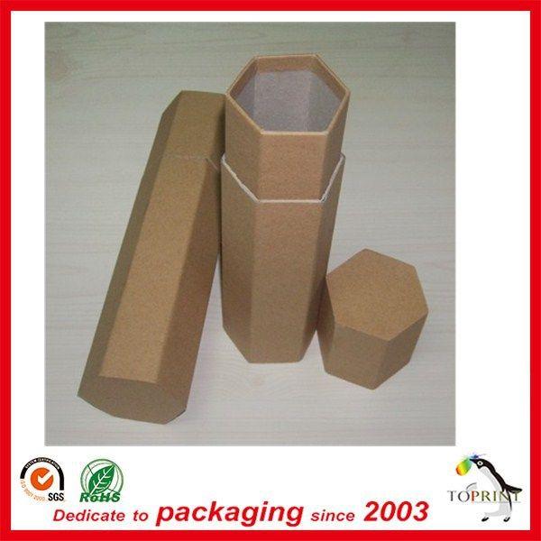 Bien-aimé Haute Quantité Ronde Kraft Papier Carton Cylindre Tube Boîte Avec  NS66