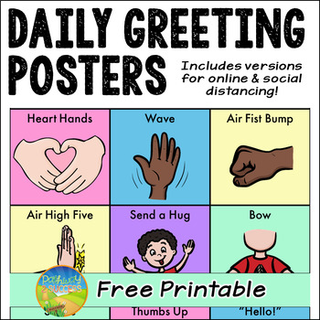 Use this greeting list to help learners build