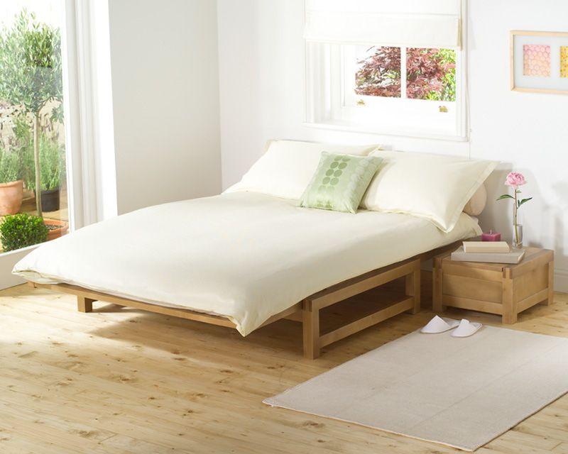 Marvelous The Futon Company Linear 4 Foot Sofa Bed For The Home Creativecarmelina Interior Chair Design Creativecarmelinacom