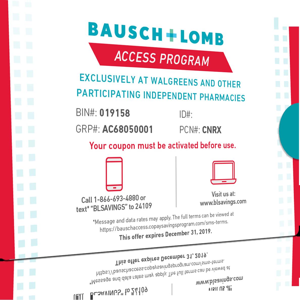 Bausch Lomb Access Program Health Insurance Plans Health Care
