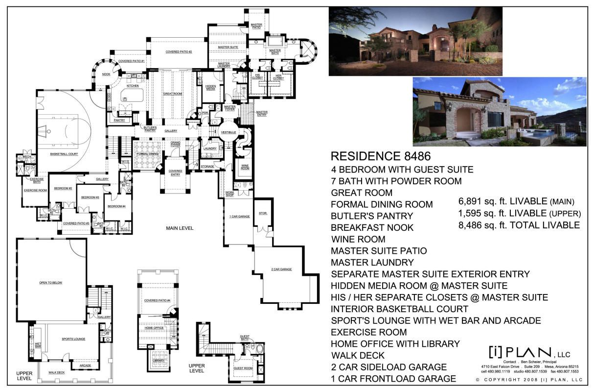 Tuscan Residence With Casita By I Plan Llc 7 346 Sq Ft Livable