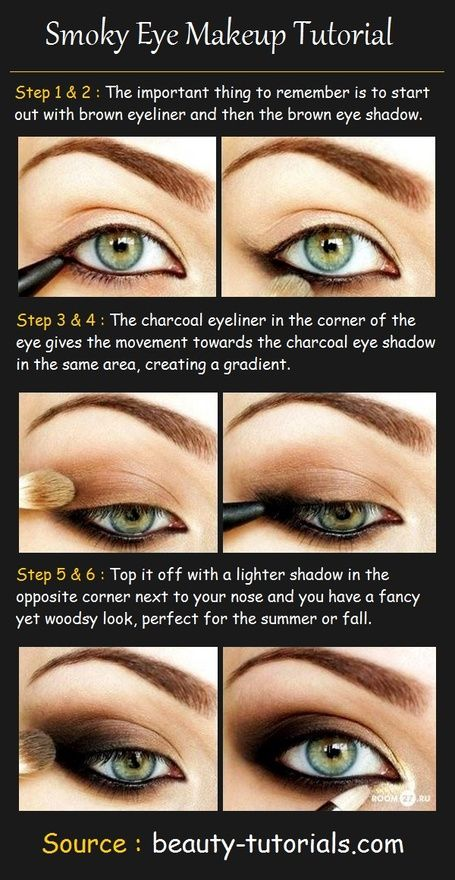 Smoky Eye Makeup Tutorial   Because I'm a girl, I can have