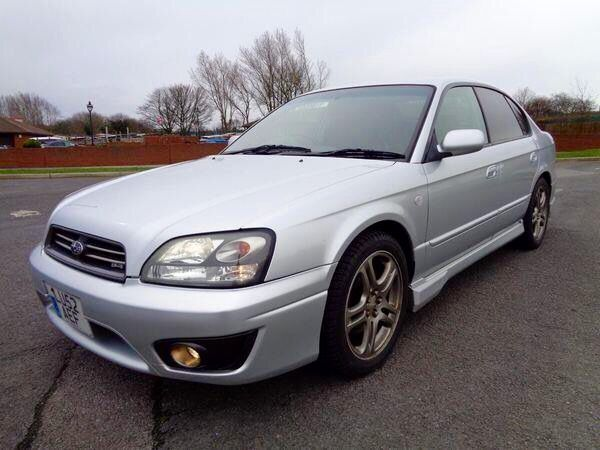 2002 Subaru B4 Legacy Rs30 3 0l F6 Subaru H6 Boxer Awd The Legacy Rs30 Was A Sports Sedan Produced From L The Horseless Carriage Favourite Cars