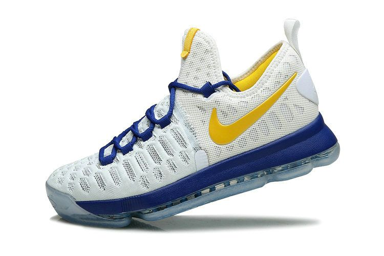 sports shoes 60878 c675e Nike KD 9 IX Flyknit Warriors Home Weiß Photo Blau Schuhe -  sommerprogramme.de