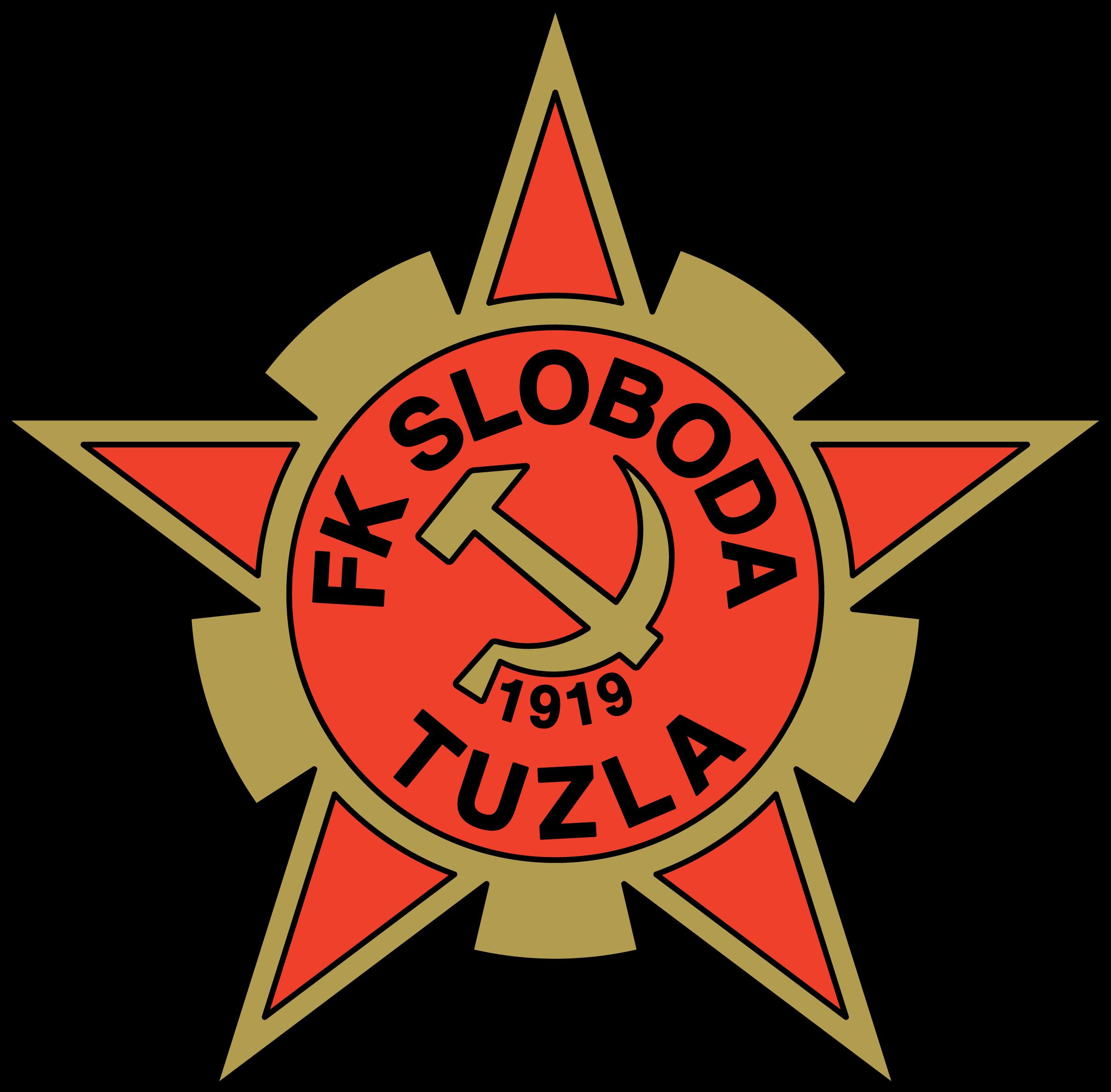 FK Sloboda Tuzla Sport team logos, Football logo, Sports
