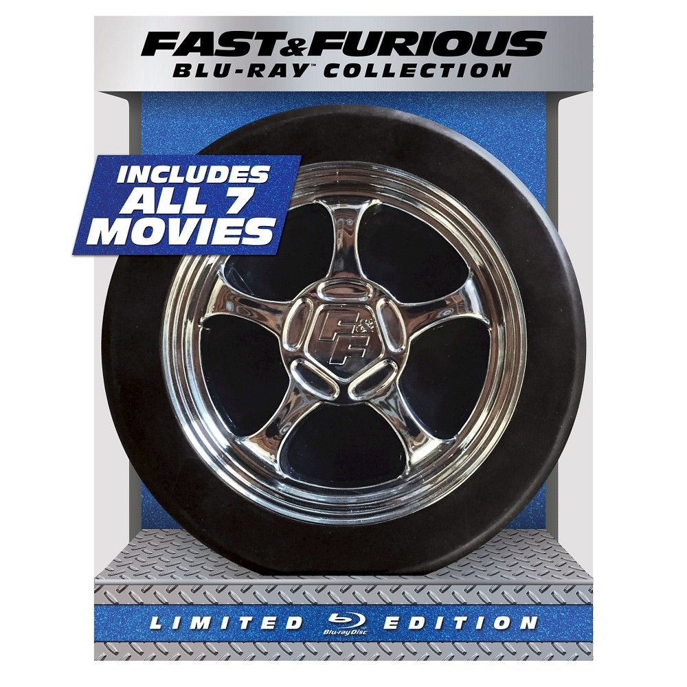 Fast furious 17 collection limited edition bluray
