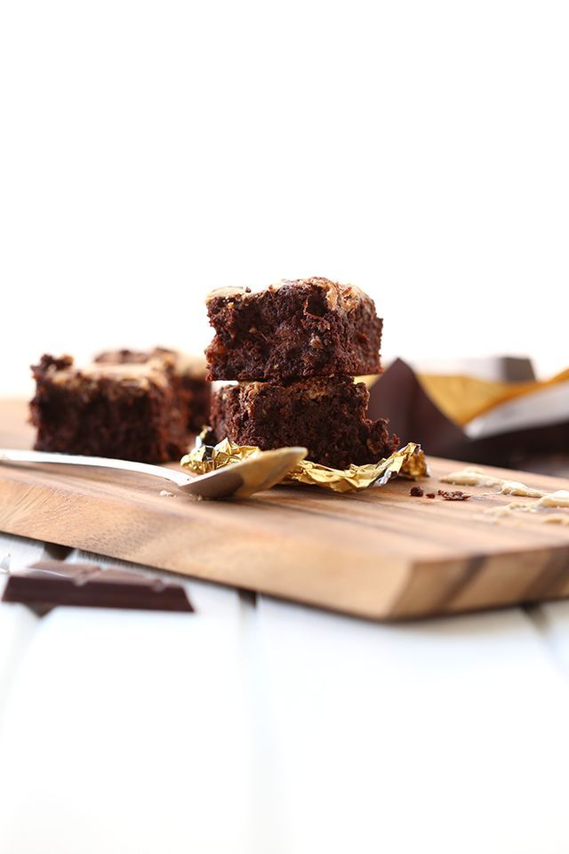 {VIDEO} Dark Chocolate Tahini Brownies | The Healthy Maven | Bloglovin'