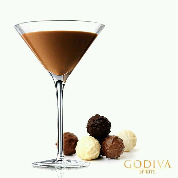 Godiva Truffletini 1oz. Godiva Chocolate Liqueur .5oz
