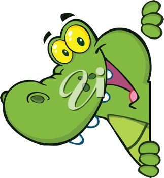 gator animation pictures | picture of a cute cartoon alligator ...
