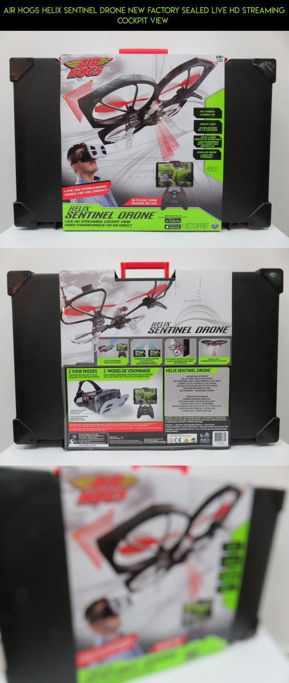 Air Hogs Helix Sentinel Drone New Factory Sealed Live HD Streaming Cockpit View
