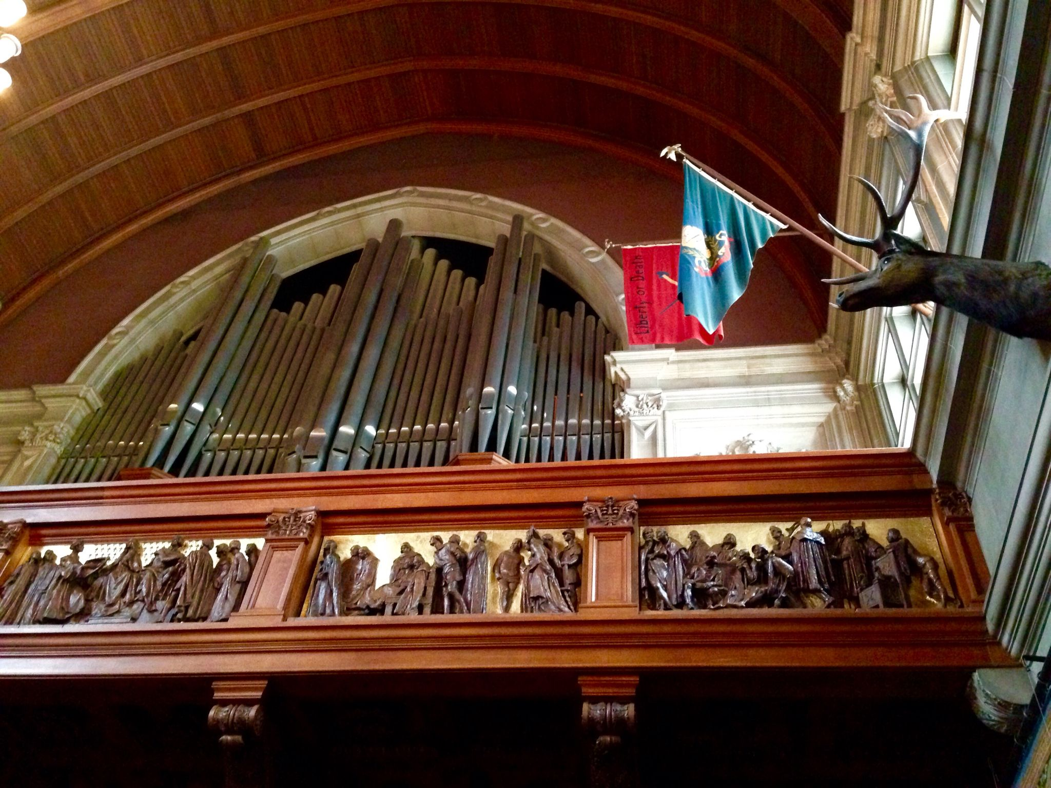 Biltmore House 2Nd Floor Organ Loft Above Banquet Hall -