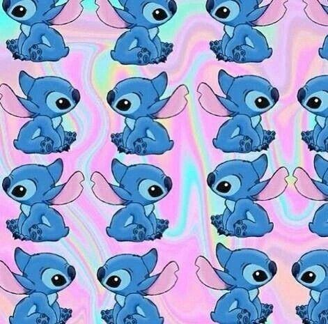 Lilo Stitch Stitch Wallpaper Pink Emoji Backgrounds Emoji