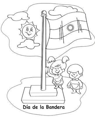Todopreescolar 200 Anos Tiene Nuestra Bandera Argentina Con
