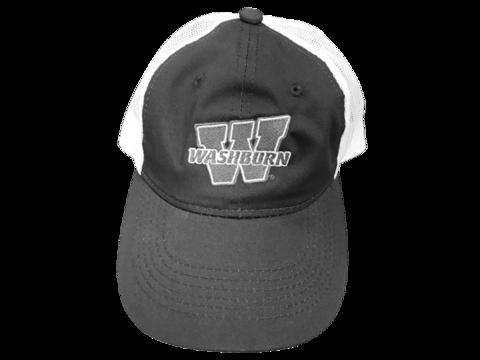 aa07f0cdc42 Washburn Embroidered OC Mesh Back Adjustable Hat - Charcoal White ...