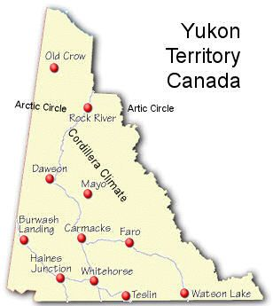 Yukon Territory Mapthe Yukons allure for me is not the gold but