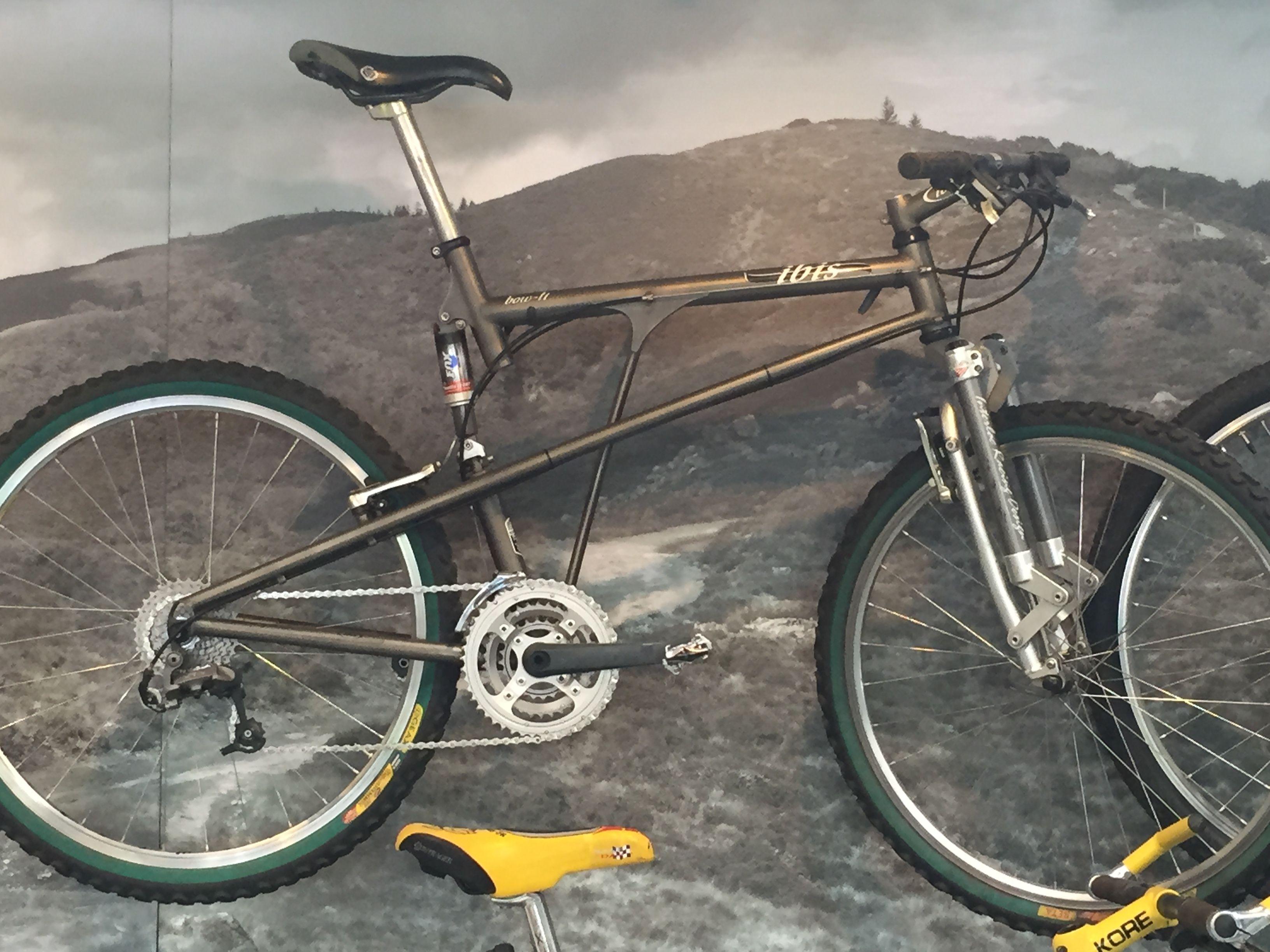 Ibis Bow Ti Full Suspension Mountain Bike Vintage Mountain Bikes