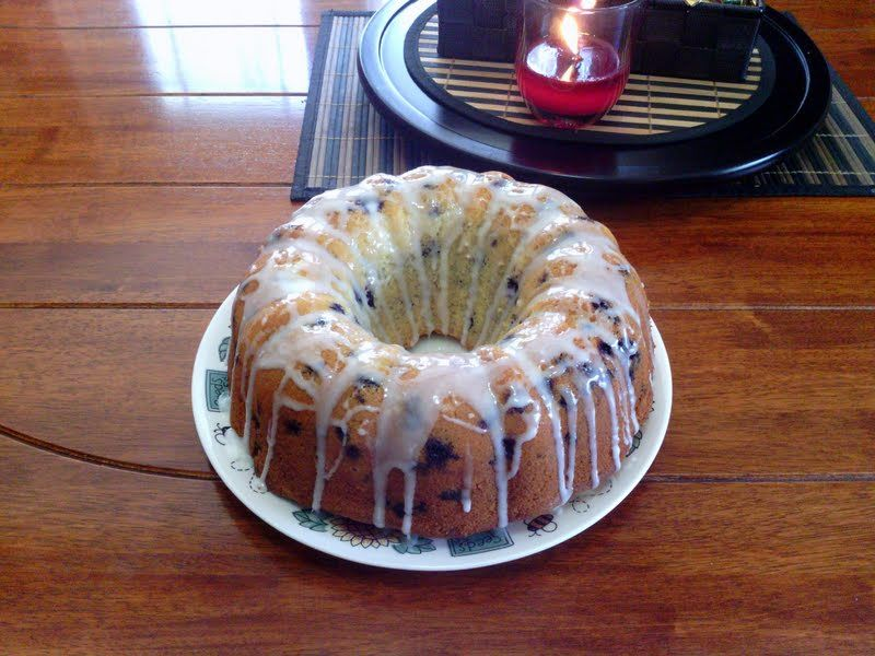 """best lemon blueberry bundt cake - """"its the best i've had very simple very light perfect break time or snacks"""" @allthecooks #recipe"""