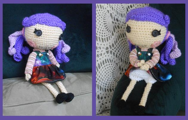 Amigurumi Doll Lalaloopsy Pattern : Lalaloopsy sized doll free amigurumi crochet pattern here