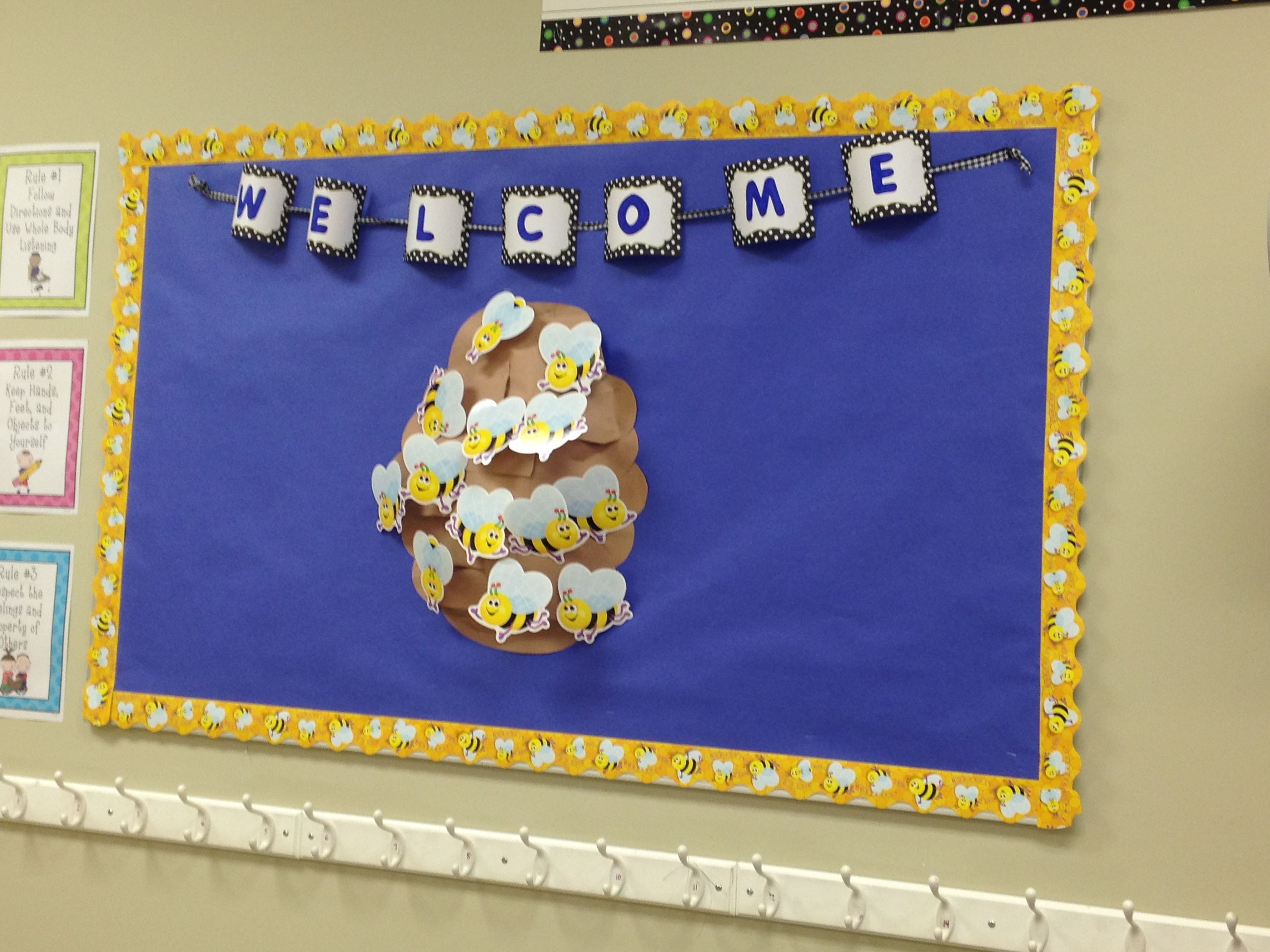 Classroom Welcome Ideas : D welcome bulletin board classroom ideas