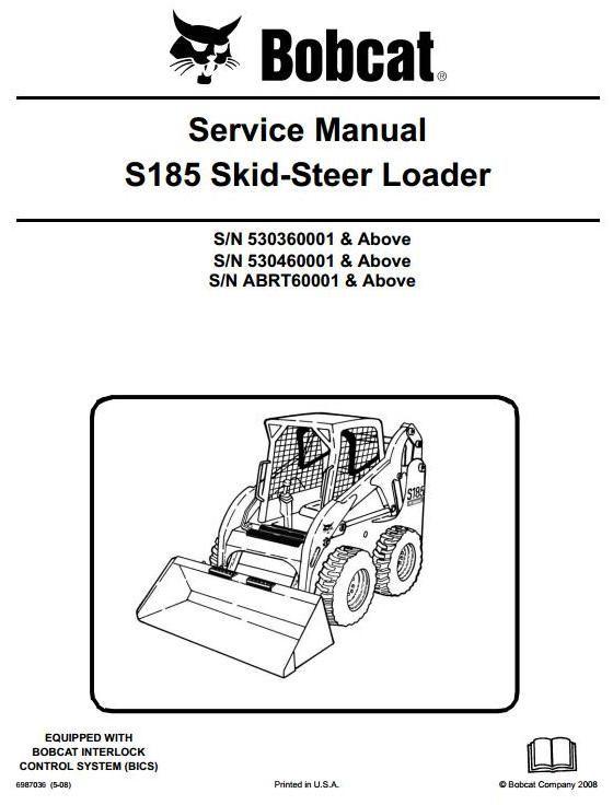 119b9668bb3851a7ece855d0fec735ec original illustrated factory workshop service manual for bobcat skid
