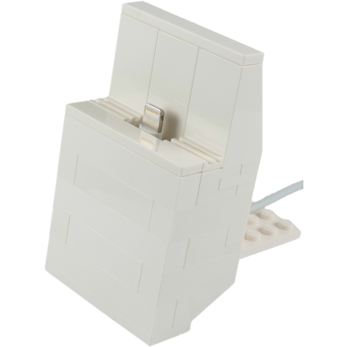 LEGO Custom iPhone 5 Dock Kit White. (also comes in black