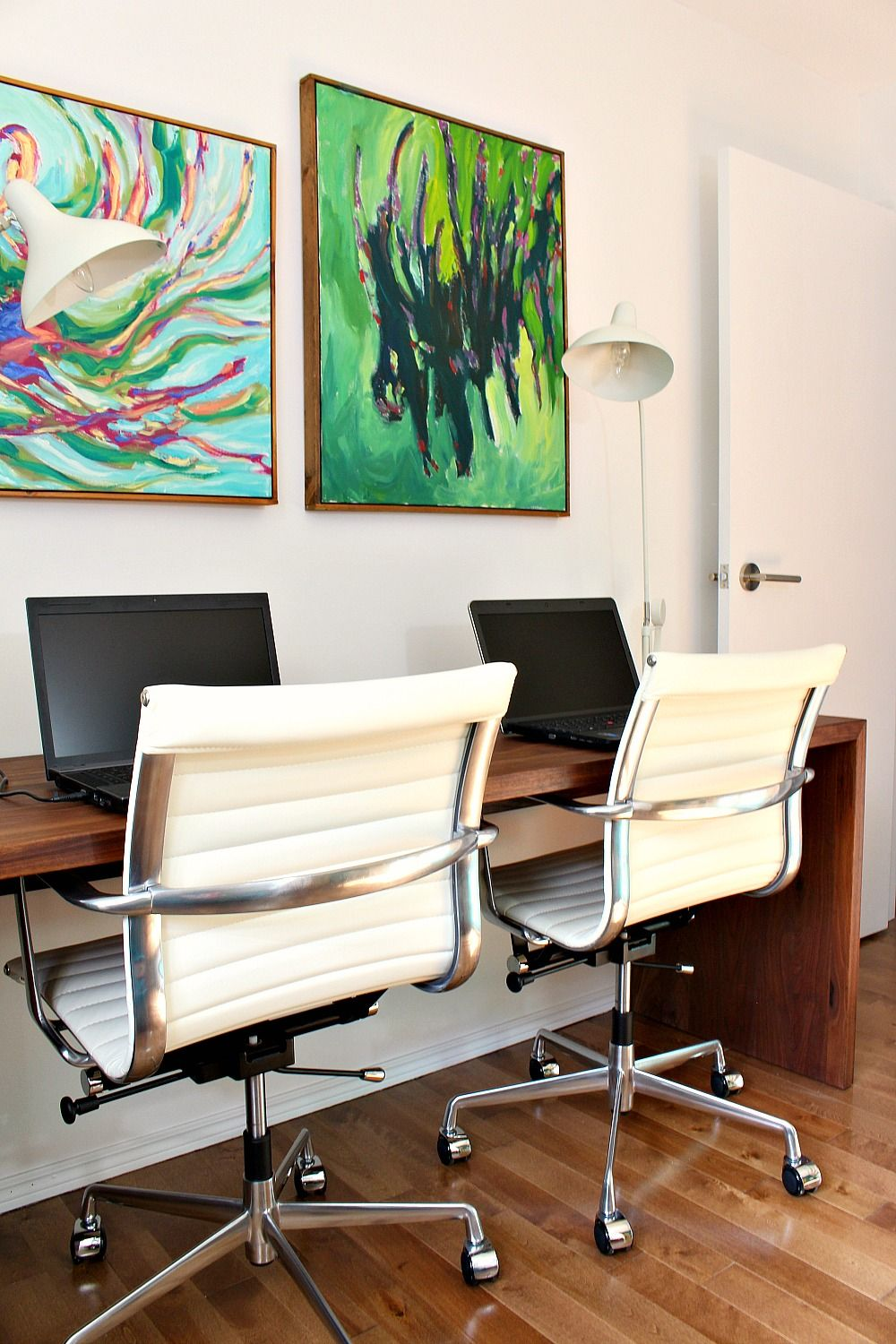 Perfect Home Office Makeover With A Colorful, Mid Century Modern Inspired Look Pictures Gallery