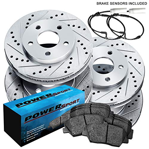 OE Replacement See Desc. 2010 Fit Dodge Charger Rotors Ceramic Pads F