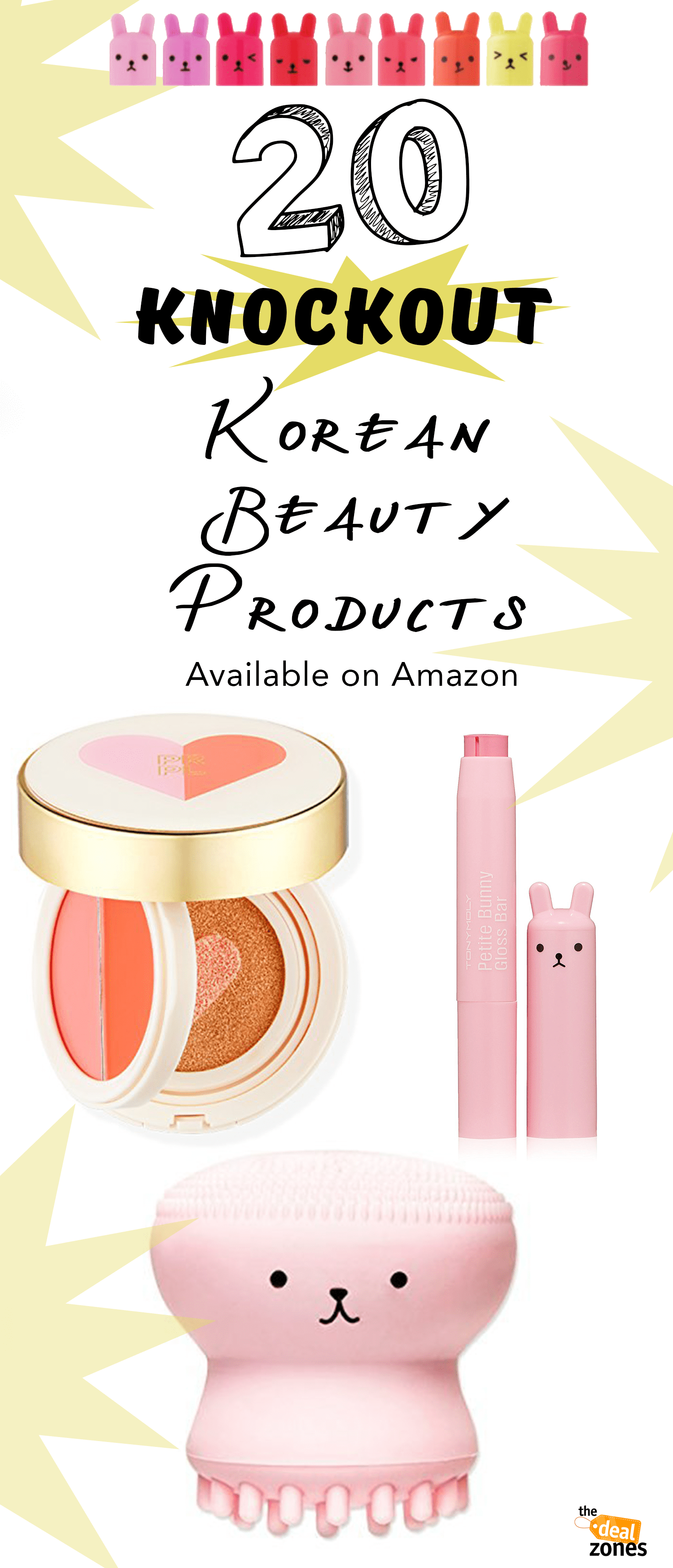 20 Knockout Korean Beauty Products Available on Amazon