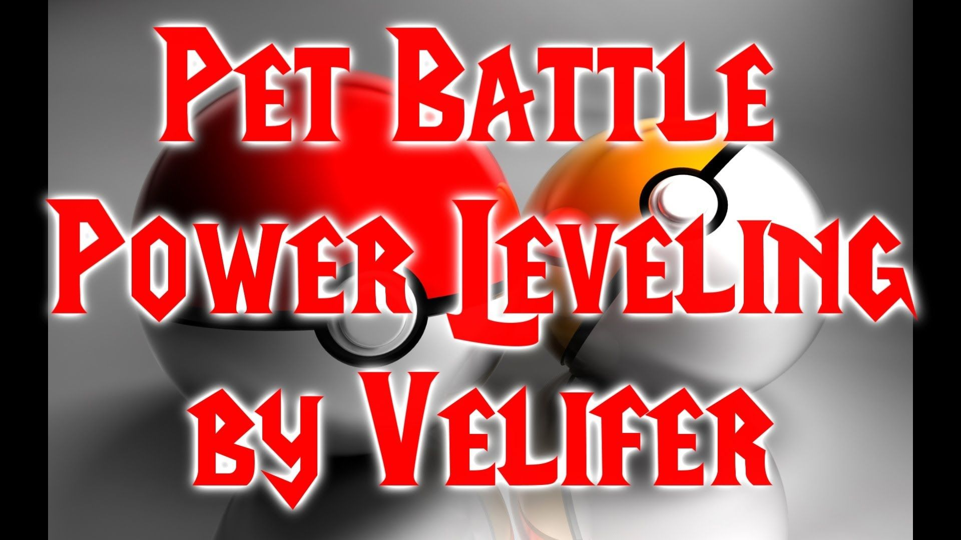 nice 1 Power Leveling Companion Pets for Pet Battles MoP