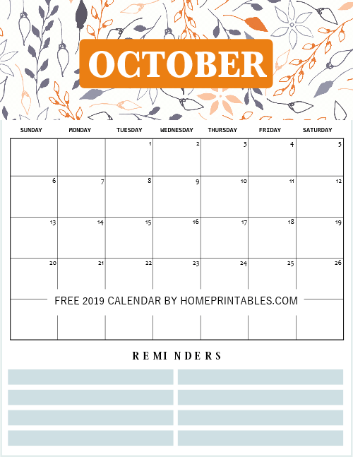 image regarding Printable Calendar October called 2019 Calendar Printable with Weekly Planner: Tremendous Lovable