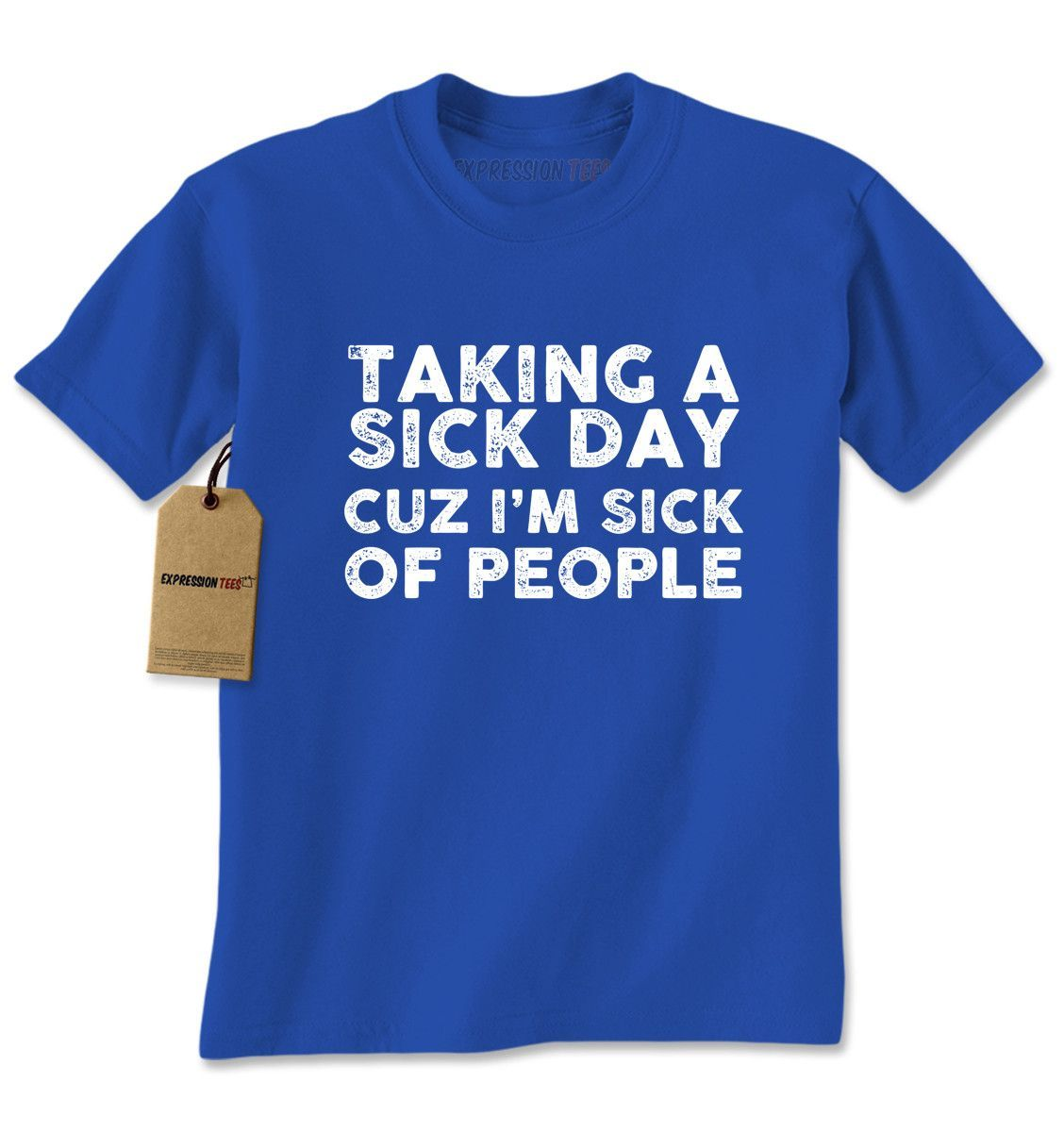 Taking A Sick Day Mens T-shirt