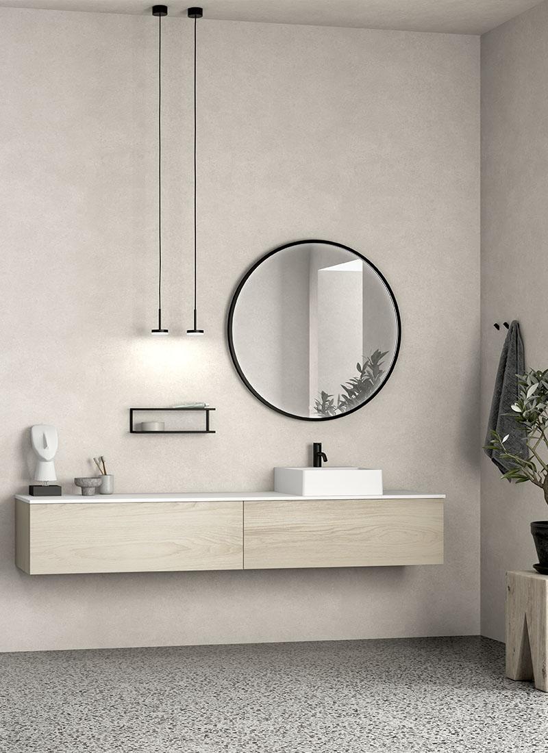 Photo of Dansani YOU Urban bathroom decor in white elm
