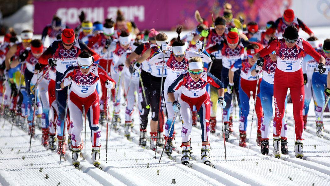 Translating Thrills on the Skiing Trails Winter olympics