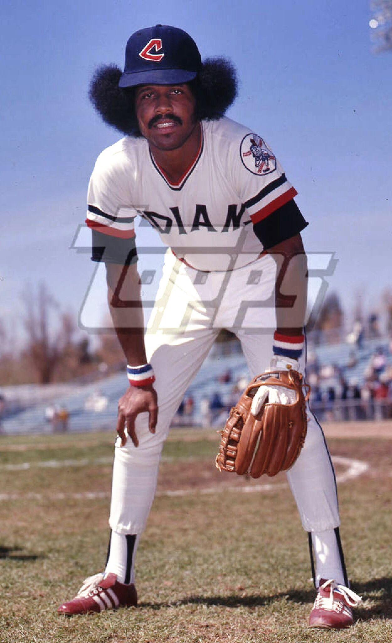 Oscar Gamble Cleveland Indians Cleveland Indians Baseball Cleveland Baseball Cleveland Indians