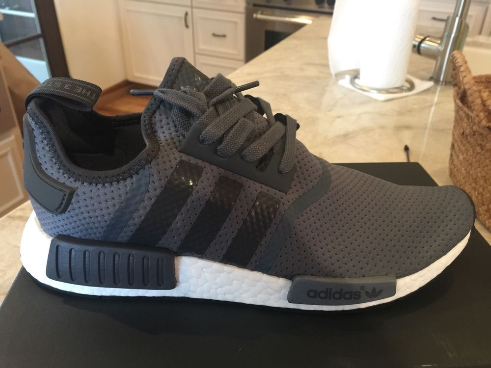 5e451f476 Details about Adidas NMD R1 JD Sports Grey Black White BB1355 Glitch ...
