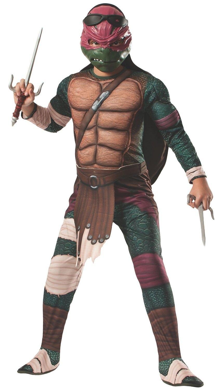 Teenage Mutant Ninja Turtles Muskel Raphael Kinderkostüm | USA ...
