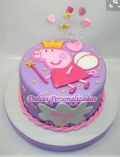 torta peppa Disney Pinterest Pig party Birthdays and Cake