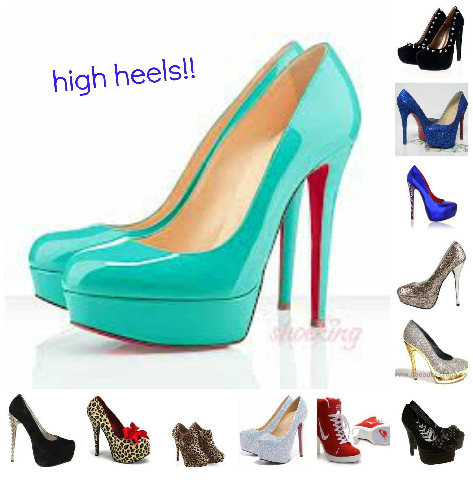 to wear - Louboutin christian shoes collage video