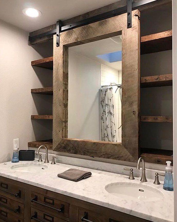 Badkamer spiegelkast diy | Woonboerderij | Pinterest - Badkamer ...