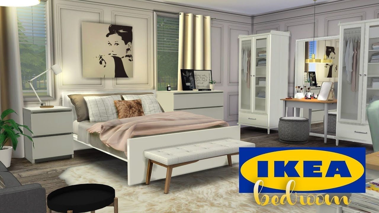 Ikea Bedroom Cc The Sims 4 Speed Room Build Sims 4 Cc