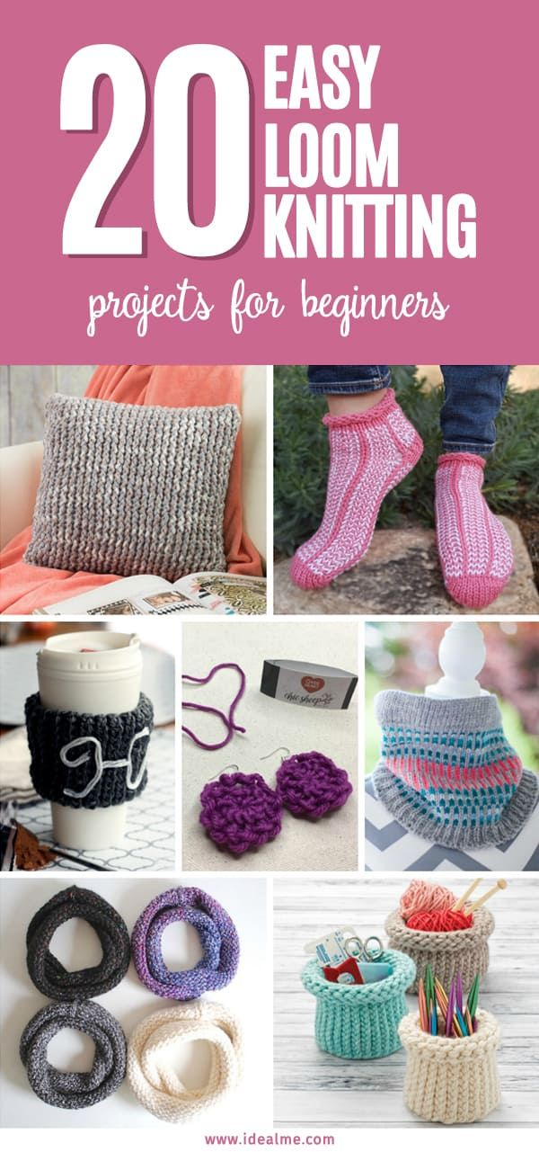 Photo of 20 Loom Knitting that are Easy for Beginners