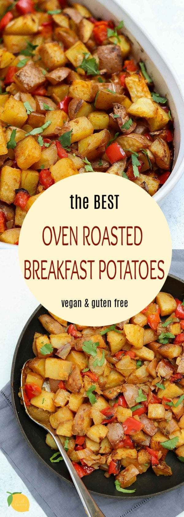 breakfast potatoes #breakfast The Best Oven Roasted Breakfast Potatoes (Vegan) | Eat With Clarity