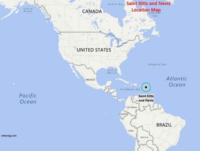 Where is Saint Kitts and Nevis | North America | Caribbean ...