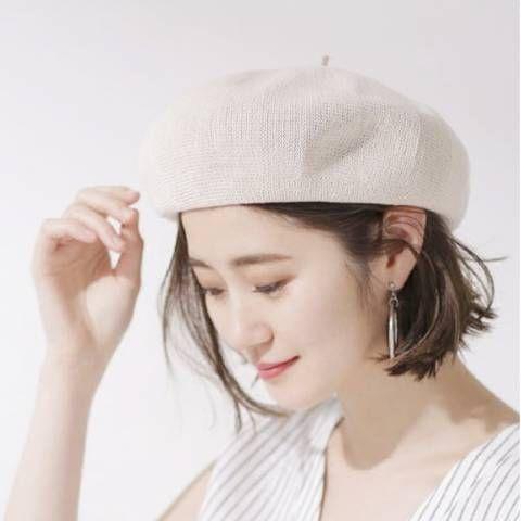 Plain beige beret hat cotton sun hats for teenage girls summer wear ... 9ec262c90d36