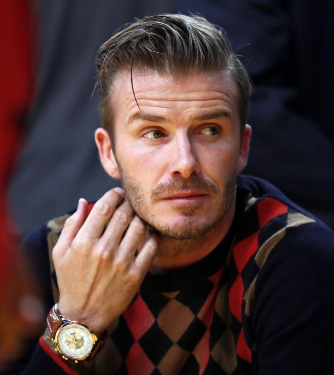 Main Character David Beckham Is 39 Years Old And For Most Of His