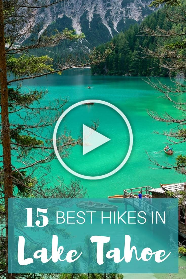 Lake Tahoe is a beautiful place to go hiking during the year. Here is a guide to the 15 best Lake Tahoe hikes in California. #laketahoe #hiking #california #outdoors #trails #besthikingtrails