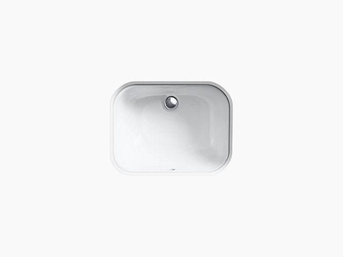 K-2890-4U | Tahoe undermount bathroom sink with oversize 4 ...